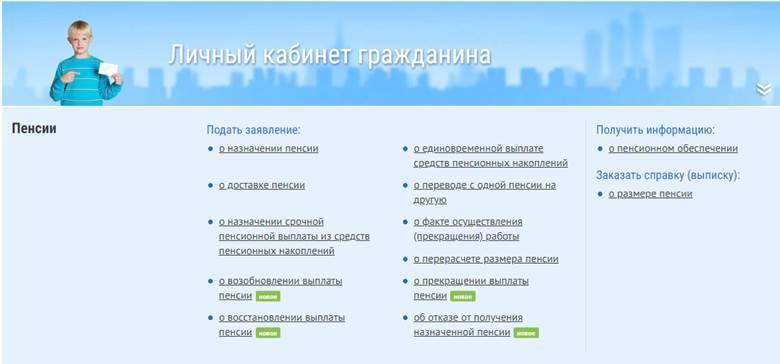 официальный сайт пенсионного фонда ставропольского края личный кабинет